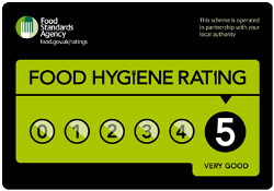 Hollybank Care Home has a 5 Star Food Hygiene Rating